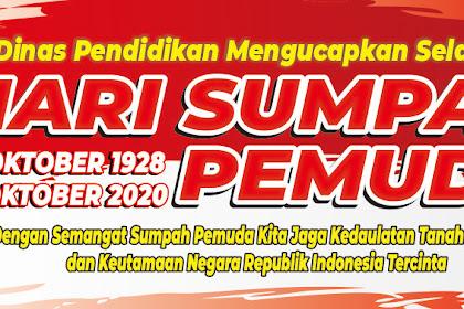 Download Gratis Desain Spanduk Banner Sumpah Pemuda Terbaru