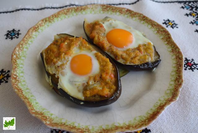 En Buena Onda: Berenjenas Rellenas Con Huevo