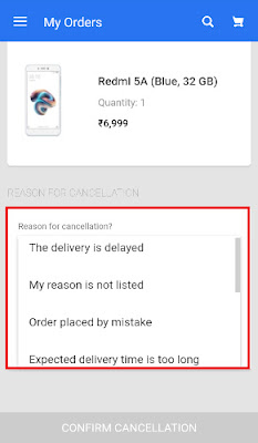 how to cancel order in flipkart before delivery