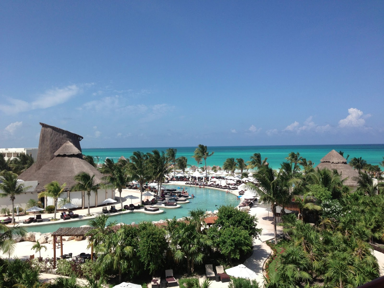Everything About Secrets Maroma Beach Was Remarkable The Incredible View From Our Fourth Floor Room Vibrant Aqua Colored Ocean Gorgeous