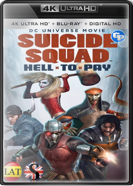 Suicide Squad: Hell to Pay (2018) 4K UHD LATINO/ESPAÑOL/INGLES