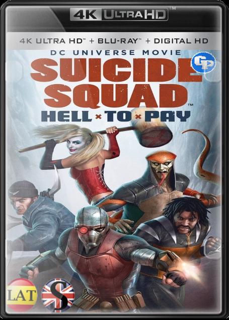 Suicide Squad: Hell to Pay (2018) 4K UHD LATINO/ESPAÑOL/INGLES