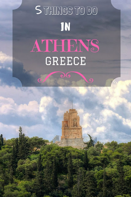 Five things to see in Athens, plus tips for visiting Athens plus tips on how to get around and where to stay from an independent traveller's perspective.