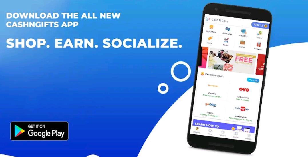 CashNGifts Apk Aplikasi Penghasil Uang Rupiah Android Gratis