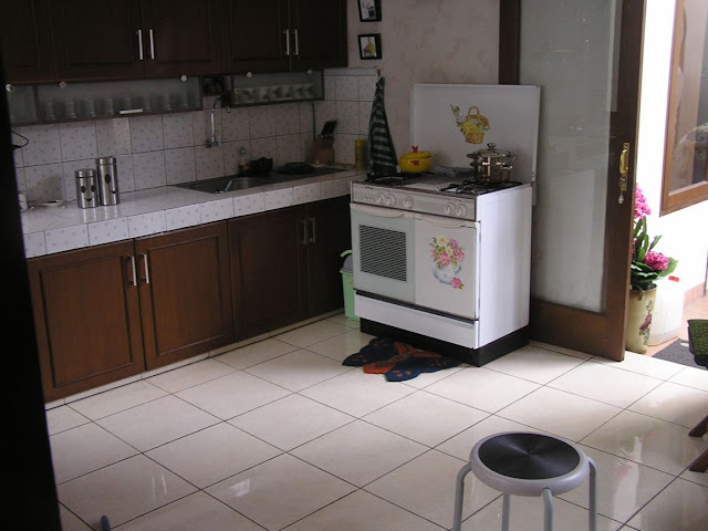 foto dapur type 36