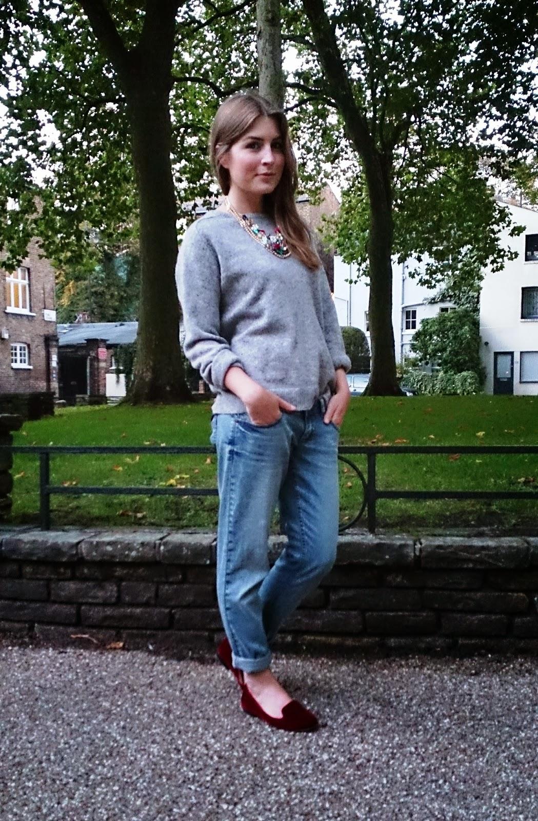 6bb393fb05e Outfit  boyfriend jeans