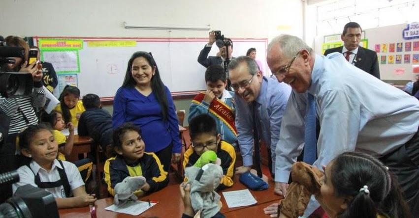 La educación es fundamental para lograr el éxito (Presidente Kuczynski)