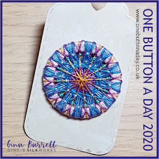 Day 189 : Summer Breeze - One Button a Day 2020 by Gina Barrett