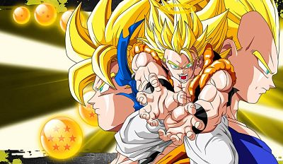 Goku y Vegeta fusión