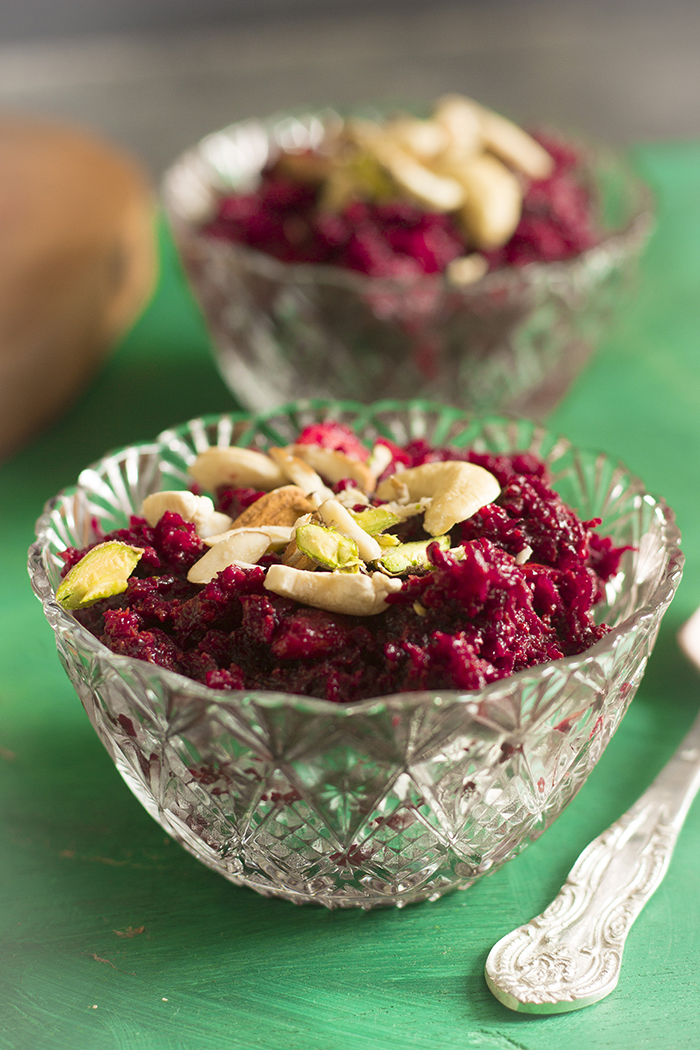 chukandar halwa, beetroot halwa with video recipe, beetroot dessert