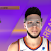 Devin Booker Cyberface, Hair and Body Model With Mask by  Losjosh and Jay Hawks [FOR 2K21]