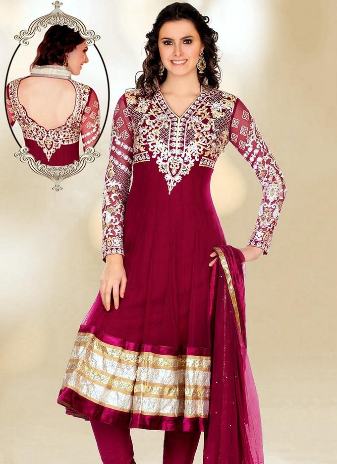 New Anarkali Suits | Indian Anarkali Fashion 2013-2014