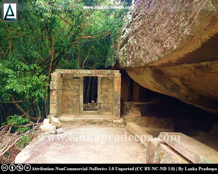Rajagala stone entrance