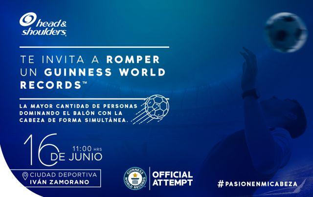Chile busca romper récord Guinness de destreza en fútbol