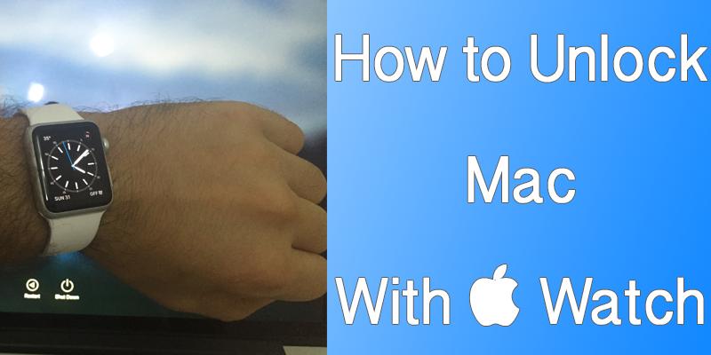 Unlock Mac with Apple Watch