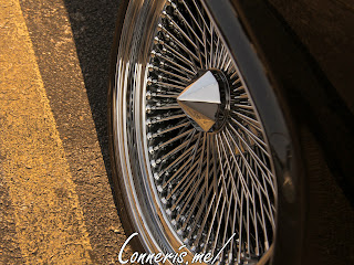 Lincoln Continental Wheel Detail