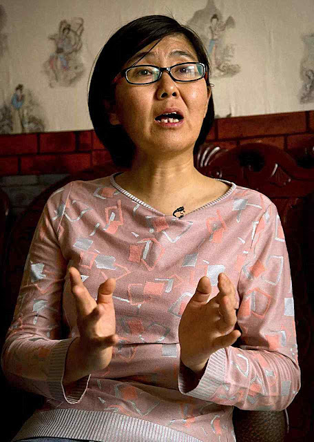 A advogada Wang Yu foi obrigada a 'confessar' pela TV
