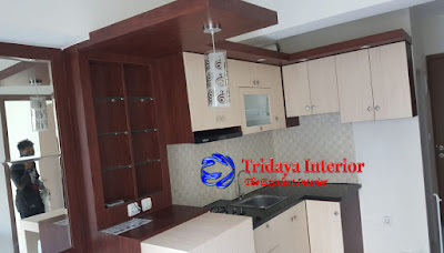 kitchen-set-apartemen-podomoro-golf-view