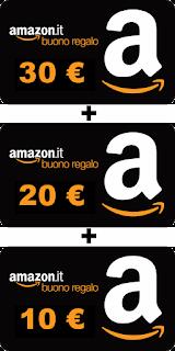 Amazon regala 60€ in buoni sconto