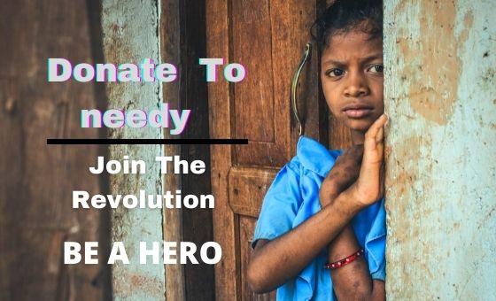 donate the money for poor people  corona virus