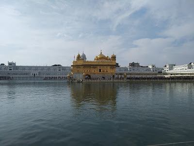 Golden Temple Morning View