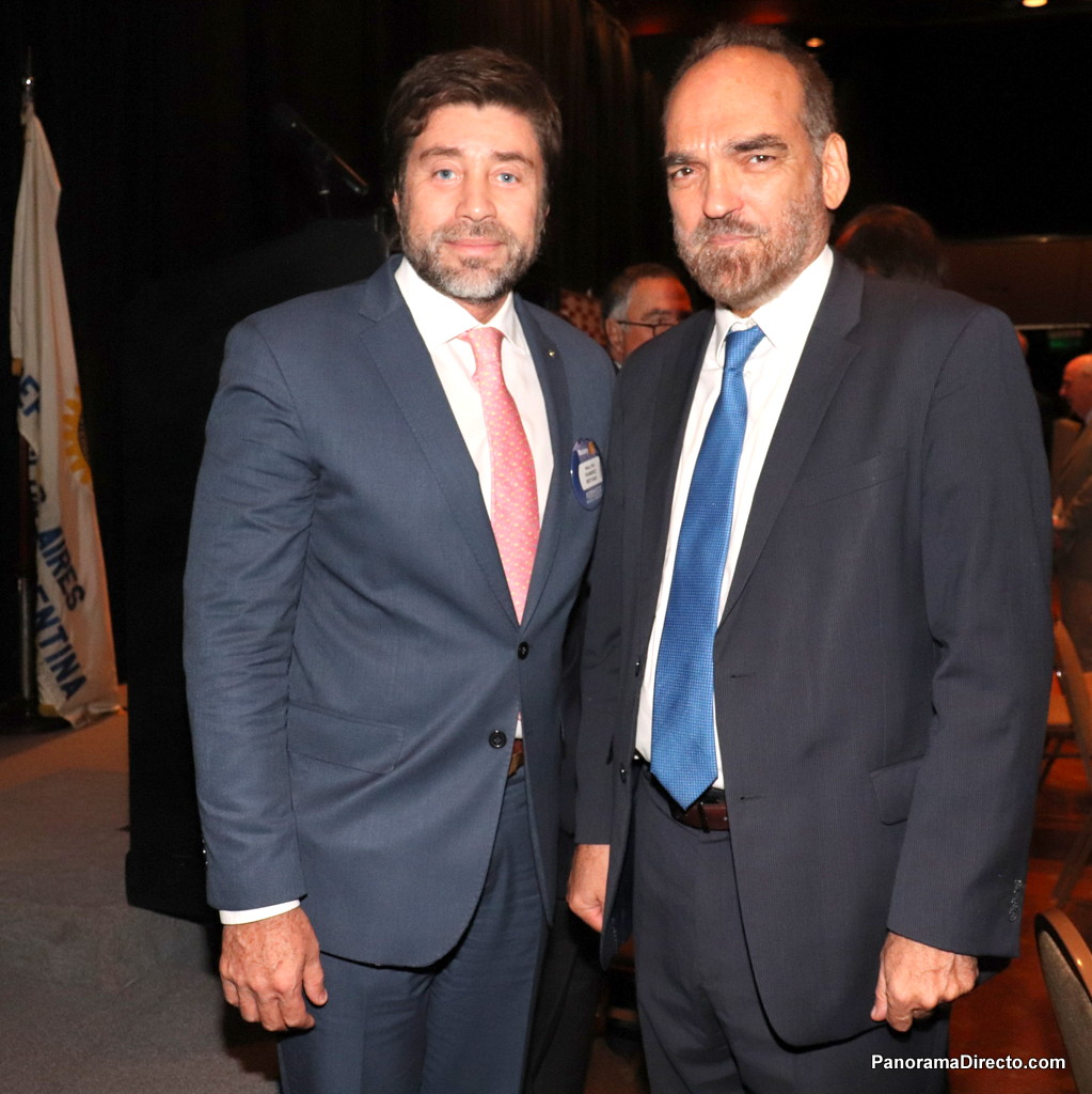 Walter Ramírez y Moyano Fernando Iglesias en el Hotel Sheraton Libertador