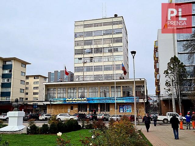 Bandera Mapuche es izada en edificio municipal de Osorno