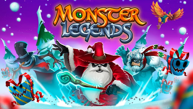 Monster Legends Title
