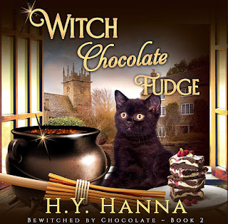 Witch Chocolate Fudge by HY Hanna - Amber's Purrsonal Copy @BionicBasil® Feline Fiction on Fridays
