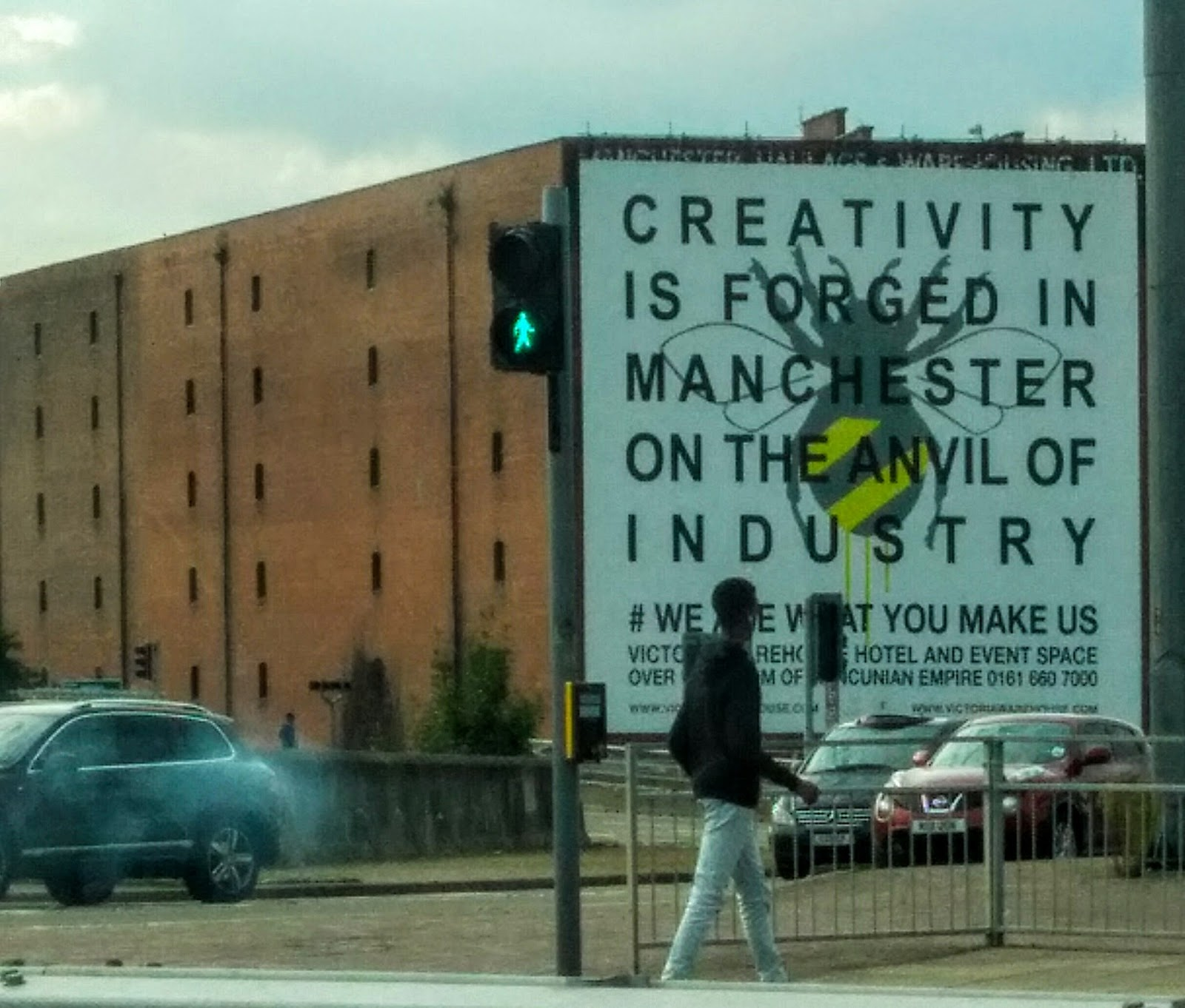Creativity is forged in #Manchester on the anvil of industry ...