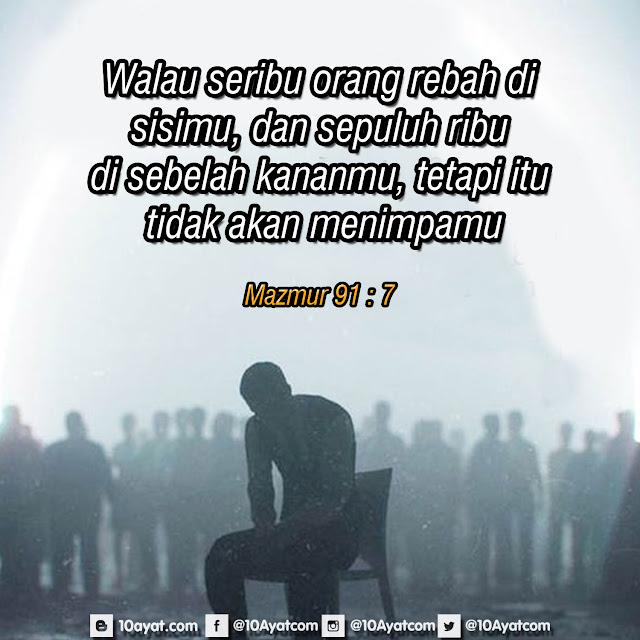 Mazmur 91 : 7