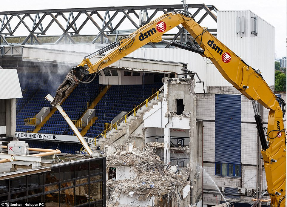 Thegoalmac Blog Pictures From The Site Of Tottenham