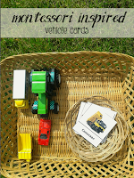 Vehicle toddler activities by Welcome to Mommyhood [Montessori inspired]