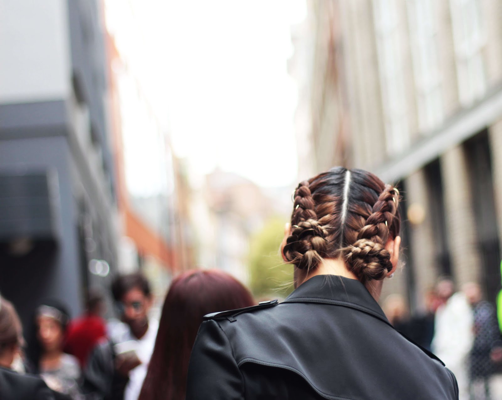 hair inspiration london fashion week