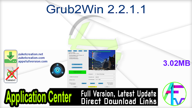 Grub2Win 2.2.1.1