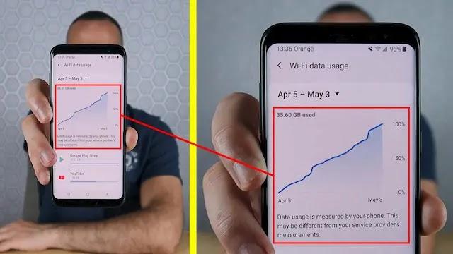 هكذا يمكنك أن تعرف وتوقف التطبيقات التي تستهلك الإنترنت بشكل مفرط في هاتفك
