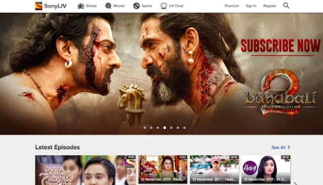 Sony LIV Movies Download