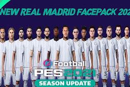 Real Madrid New Facepack - PES 2021