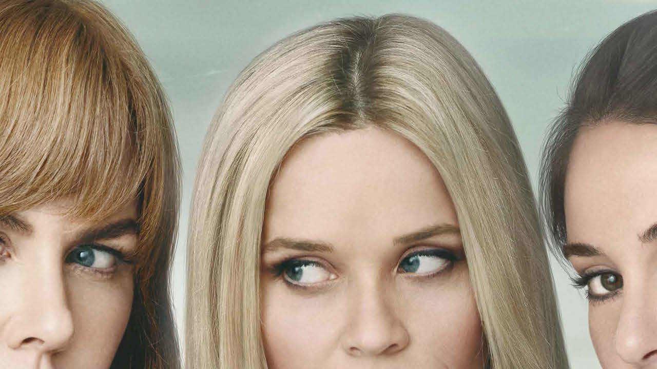 Imagen promocional de Big Little Lies de HBO con Nicole Kidman, Shailene Woodley y Reese Witherspoon