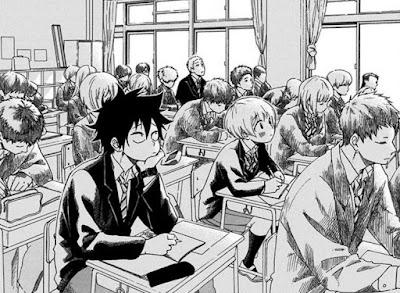 Ao no Flag, manga Panel