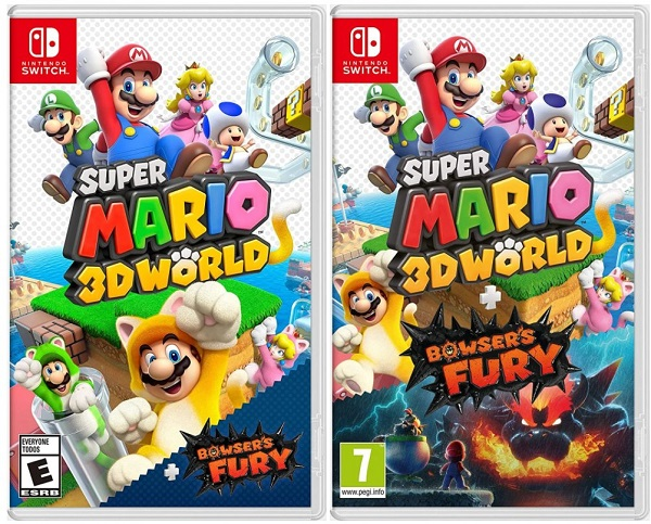 Super Mario 3D World + Bowser's Fury Switch Cover