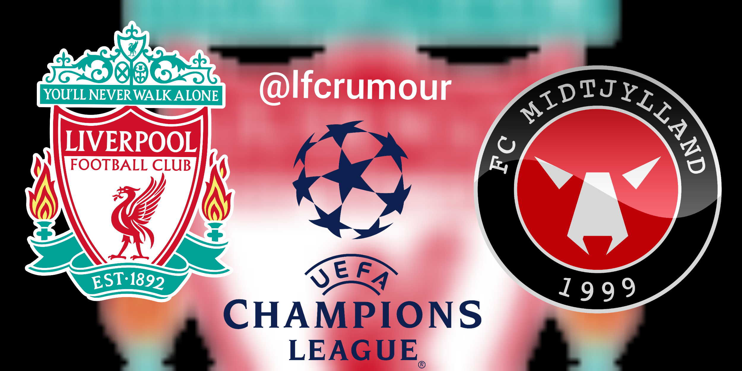 Liverpool vs. Midtjylland, Champions League 27-10-2020.