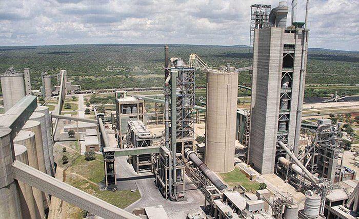 Fábrica de cemento en Africa