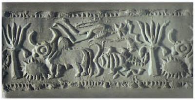 मेसोपोटामिया कूबड़ वाला बैल