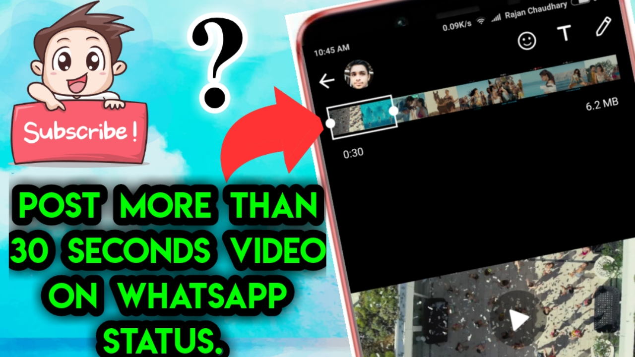 Rajan Chaudhary How To Post More Than 30 Seconds Video On