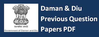 Daman & Diu Previous Papers
