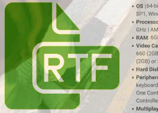 Format RTF lebih baik di Word