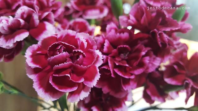 arranjo-de-flores-decoração-cravinas