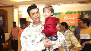 karan johar's son says amitabh bachchan will take away coronavirus