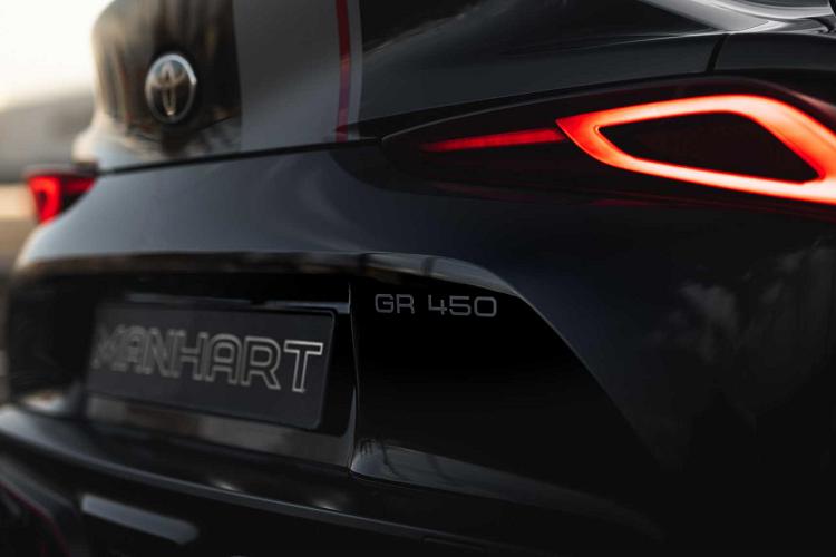 Toyota Supra 2020 đầy uy lực sau khi qua tay hãng độ Manhart